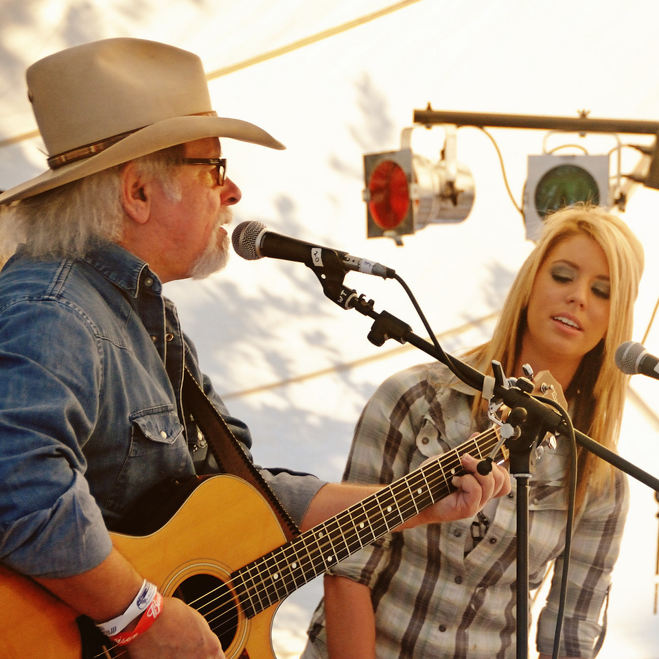 Tommy Alverson and Kylie Rae Harris