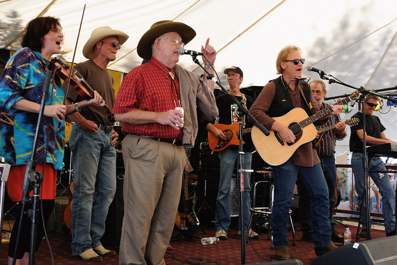 Bill Hearne, Bob Livingston and friends