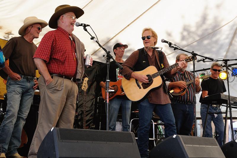 Bill Hearne, Bob Livingston and friends