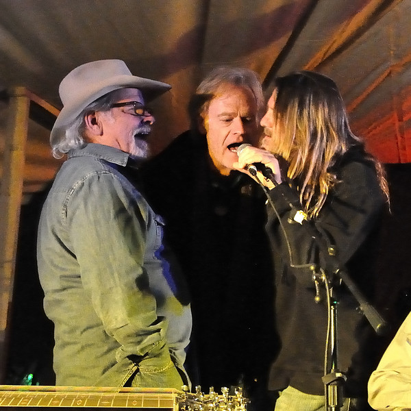 Tommy Alverson, Bob Livingston, Walt Wilkins