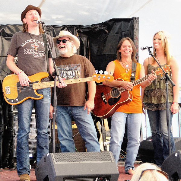 Bill Small, Tommy Alverson, Jimmy Davis, Kylie Rae Harris