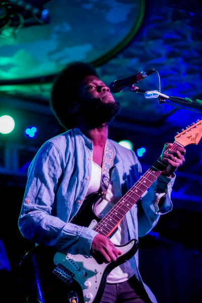 June 7, 2017 Michael Kiwanuka at the Deluxe at Old National Centre in Indianapolis, Indiana. ©Vasquez Photography