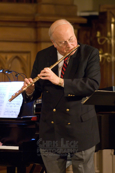 Michel Debost in concert at the Old Church, presented by the Greater Portland Flute Society