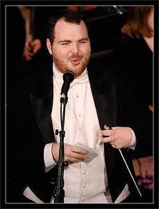 "Alex Sutton  Alex welcomes the Michigan Theater audience to the F2007 ""Pops Goes Wild"" concert  Alex Sutton, Music Director  Michigan Pops Orchestra  02-DEC-2007"