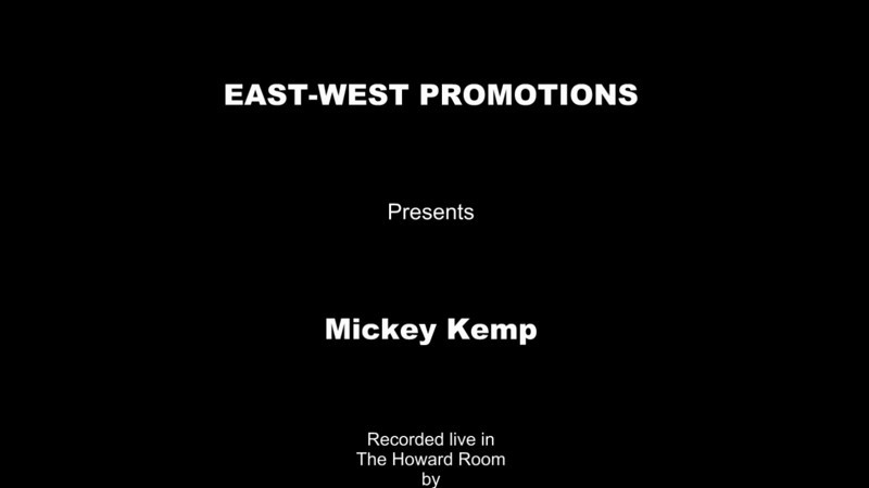 HiDef video of Mickey Kemp with various insets and overlays from the performance.