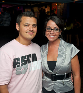 Dustin and Selena Ramirez of West Chester  at Bogart's Wednesday for Mike Posner