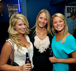 Meagan, Haley and Leslie of Clifton at Bogart's Wednesday for Mike Posner