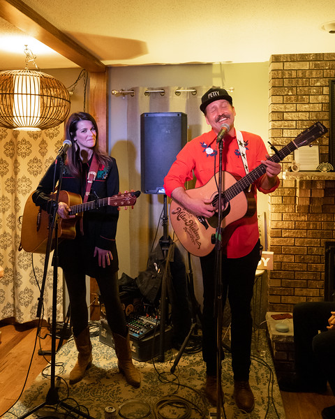 Kelly Steward & Miles Nielsen at Hunky Dory, 2019
