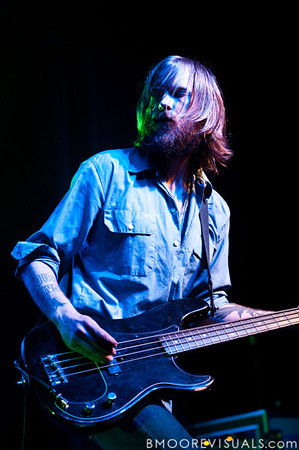 Minus The Bear perform on May 12, 2010 at The Ritz in Ybor City, Tampa, Florida