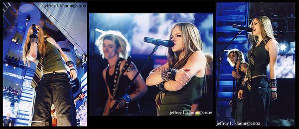 Event: Avril Lavigne @ Cleveland Rock-n-Roll Hall of Fame Date: 2002 Camera: Minolta 800si Lens: Minolta AF 50m f/1.7, Minolta AF 70-210m f/4, Tamron 28-75m f/3.5-5.6 Film: Kodak VC400
