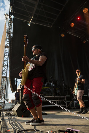 July 28, 2018 Highly Suspect on the Grande Stage at Mo POP Festival. Photo by Tony Vasquez for MAT Magazine.