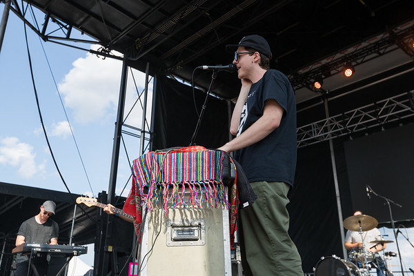 July 28, 2018 Homeshakeon the River Stage at Mo POP Festival. Photo by Tony Vasquez for MAT Magazine.