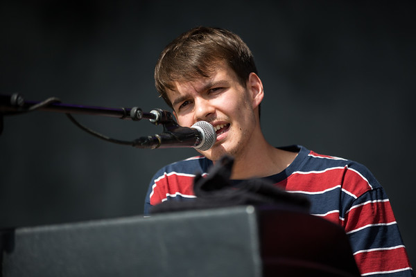 July 28, 2018 Rex Orange County on the Grande Stage at Mo POP Festival. Photo by Tony Vasquez for MAT Magazine.