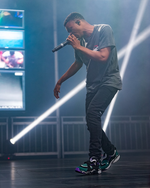 July 28, 2018 Vince Staples on the River Stage at Mo POP Festival. Photo by Tony Vasquez for MAT Magazine.