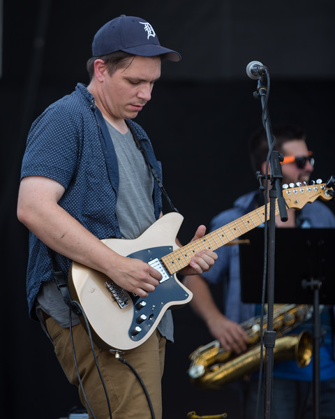 July 29, 2018 Empty Houses performing on the River Stage at Mo POP Festival. Photo by Tony Vasquez for MAT Magazine.