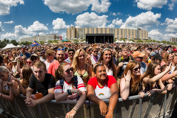 July 29, 2018, the River Stage at Mo POP Festival.