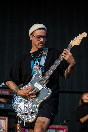 July 29, 2018  Portugal The Man on the Grande Stage at Mo POP Festival. Photo by Tony Vasquez for MAT Mag.