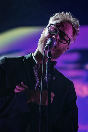 July 29, 2018 The National on the Grande Stage at Mo POP Festival. Photo by Tony Vasquez for MAT Mag.