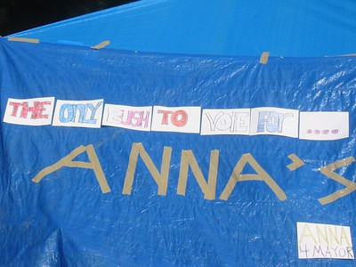 The only Bush to vote for ... Anna's!