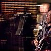 "Howlen Lights.<br /> Guitar Walter Wolfman Washington and sax Jimmy Carpenter at ""Huset"", Copenhagen, Denmark"