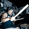 Mike Monahan of We Still Dream playing Imperial drums in Jacksonville Florida