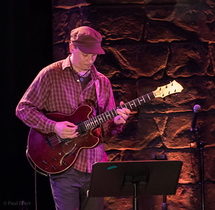 Kurt Rosenwinkle performs with The Bad Plus, at the Montreal Jazz Festival 2017
