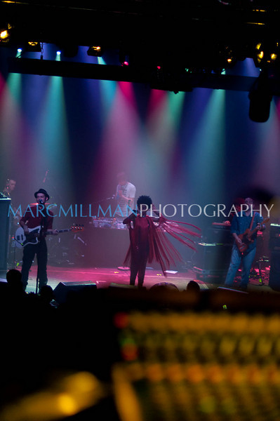A view from the board<br /> <br /> Morcheeba @ Irving Plaza (Sat 2/12/11)