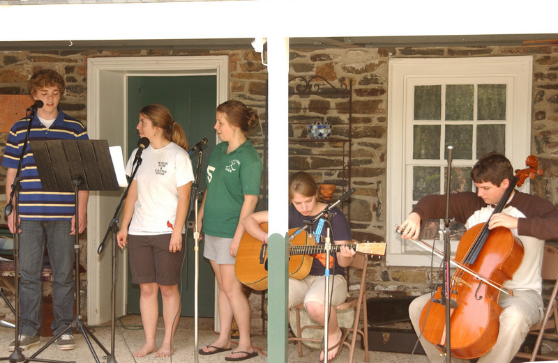 """Practice for the Ruth's Coffeehouse - """"Once"""""""