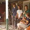 "Practice for the Ruth's Coffeehouse - ""Once"" (June 2009- Maddie, Seth, Emma, Anna, Lydia, Justin)"