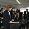 Seth on marimba-- QCSHS Indoor Drumline