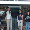 "Practice for the Ruth's Coffeehouse - ""Wanting Memories"" or ""No Mirrors"" (June 2009- Seth, Justin, Lydia, Maddie, Emma)"