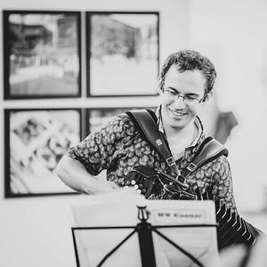 Moritz Weiß Klezmre Trio Live