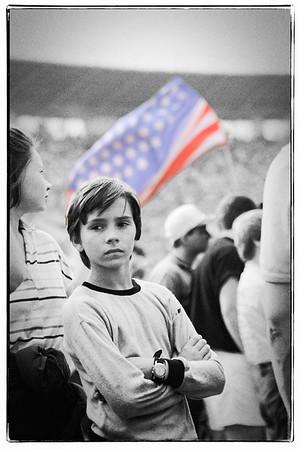 Le Stade Lénine (Loujniki) - Moscou - Public
