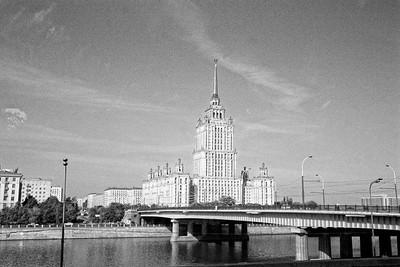 L'hotel Ukrainia QG du festival ...