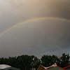 Rainbow over Mt Airy
