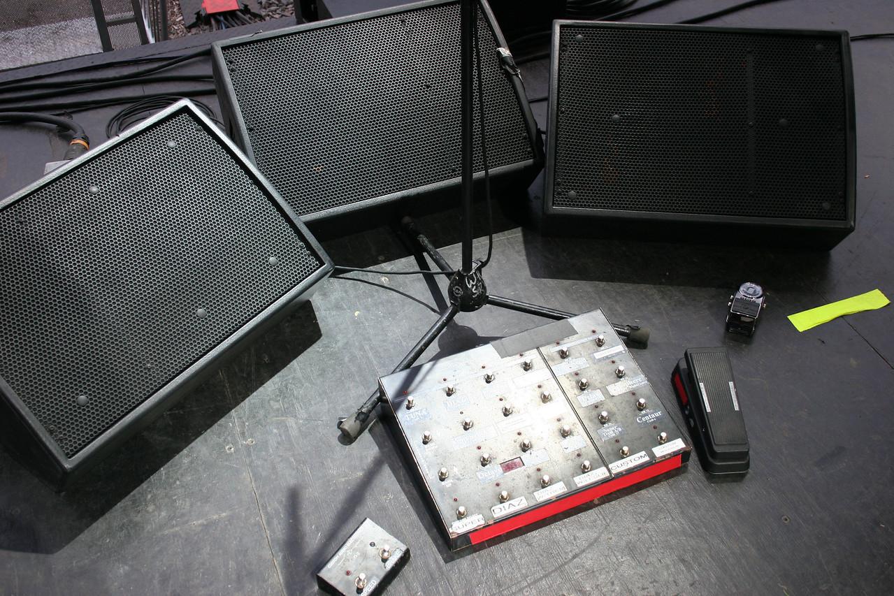 Warren's set up