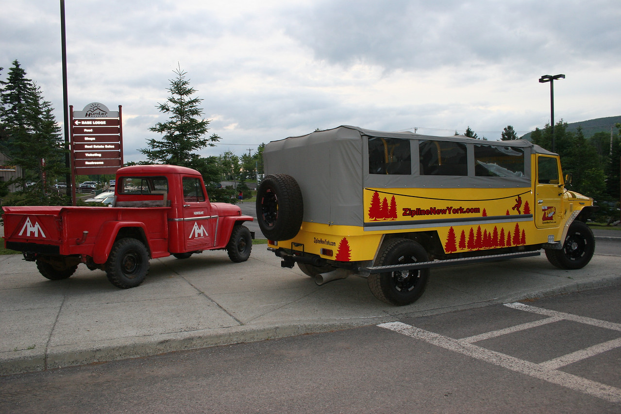 the odd cars of Hunter Mountain