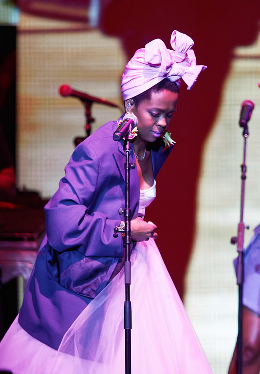 . Ms. Lauryn Hill live at MI. Lotto. on 7-20-18.  Photo credit: Ken Settle