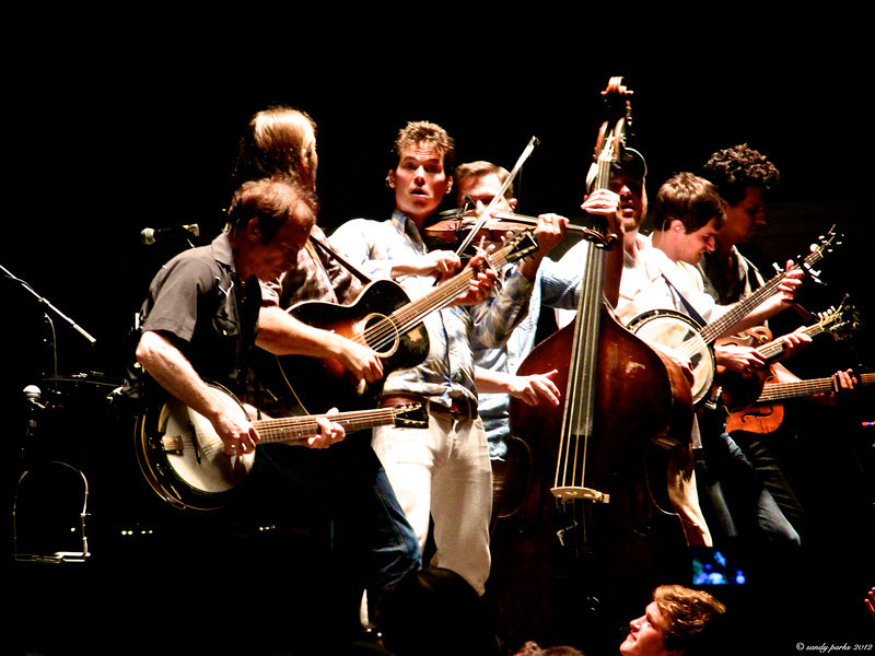 Old Crow Medicine SHow, at the Rockingham County Fair August 15 2013