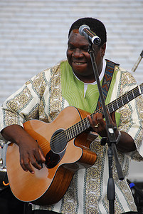 Vusi Mahlasela  (Earth Day Celebration, Central Park, NYC)