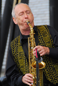 Sax Player (Earth Day Celebration, Central Park NYC)