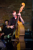Johnny Sciascia on upright bass for Eilen Jewell @ the Evening Muse - November 14th 2009