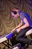 Trenton Starnes, keyboardist for Fleur.de.Vie @ The Visulite Theatre - March 25th 2009