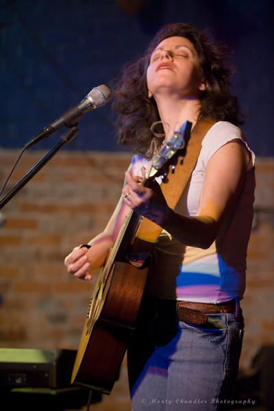Lucy Kaplansky graces the stage @ The Evening Muse in Charlotte, NC