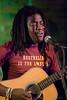Charleston, SC singer/songwriter Mel Washington performing at The Evening Muse Jan 29th 2009