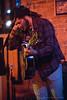 Micah Dalton performing at The Evening Muse January 22nd 2009