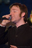 Lead singer Jeff Wharen of No Second Troy performing at The Evening Muse Feb 21st 2009