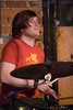 Drummer Mike Smirnoff of No Second Troy performing at The Evening Muse Feb 21st 2009