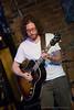 Daniel Barrett of PorterDavis performing at The Evening Muse - Sept 12 09