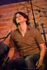 Mike Meadows of PorterDavis performing at The Evening Muse - Sept 12 09